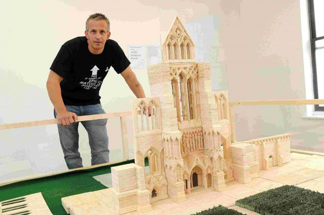 Cathedral matchstick model in record-breaking attempt