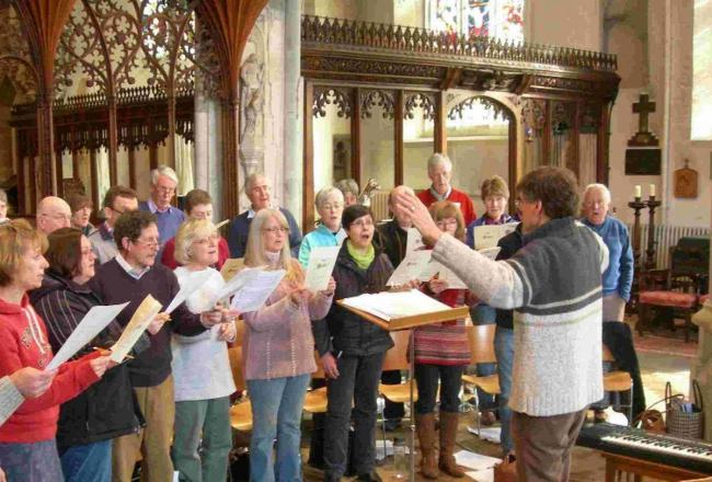 Farrant Singers perform 20th century classics