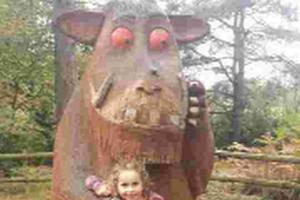 Lily's on the trail of the Gruffalo