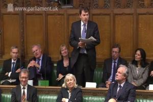 MP heaps praise on local paper in Commons