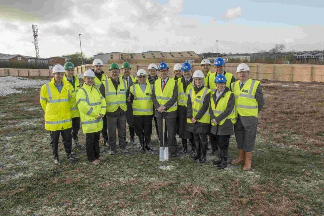Company gets to work on brand new three-acre site