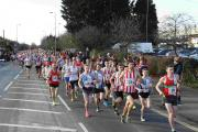 Runners at Eastleigh 10k