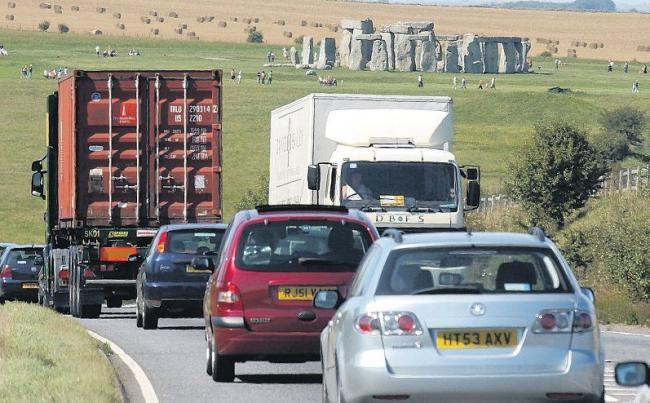 Stonehenge Alliance uses World Heritage Day to protest against planned tunnel