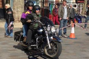 Bikers descend on city centre for Salisbury MAG show