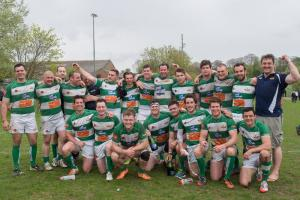 Green and Whites surge to promotion behind dominant pack