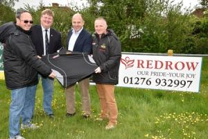 Redrow Homes and Salisbury RFC celebrated a successful season of sponsorship
