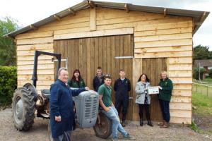 Community farm opens engineering workshop