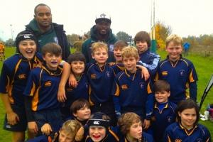 London Irish back for a rugby camp