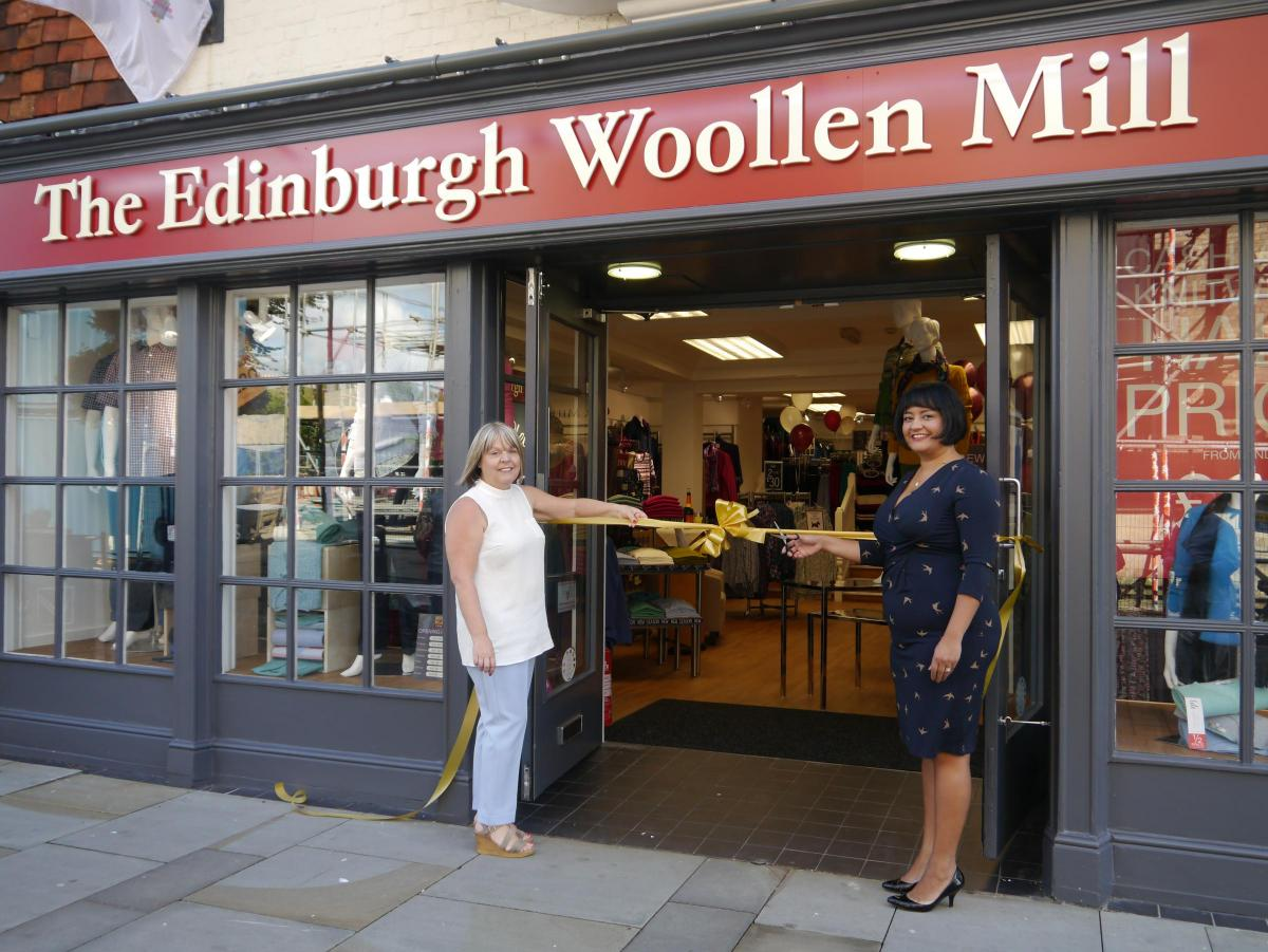 New Look Edinburgh Woollen Mill Re Opens Salisbury Journal