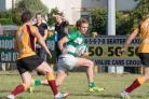 Theo Daniel makes yards for Salisbury RFC at home to Towcestrians (39373035)