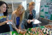 Students at Avon Valley College serve up tasty treats to raise money for Macmillan Cancer Support