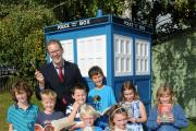 Time Lord brings Tardis to school