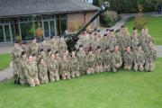 The Biennial Inspection of the Godolphin School Combined Cadet Force. DC6732P12..Picture by Tom Gregory. (39945326)