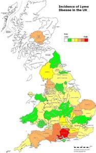 Lyme Disease Uk Map Walkers warned to be aware of ticks | Salisbury Journal