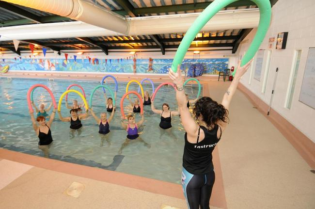 Hospital staff benefits include on site pool and gym
