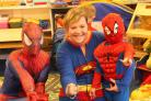 Superhero Day at South Hills Nursery in Hindon