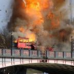 Salisbury Journal: Londoners aren't too happy about the bus explosion staged for a Jackie Chan film
