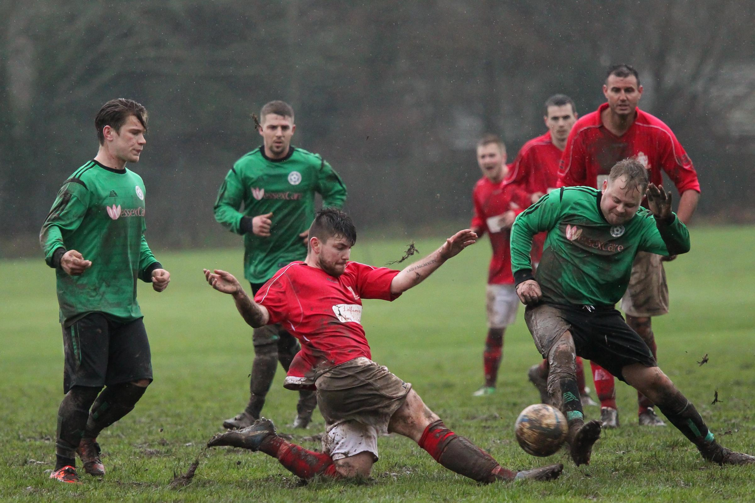 Redlynch battle in the mud