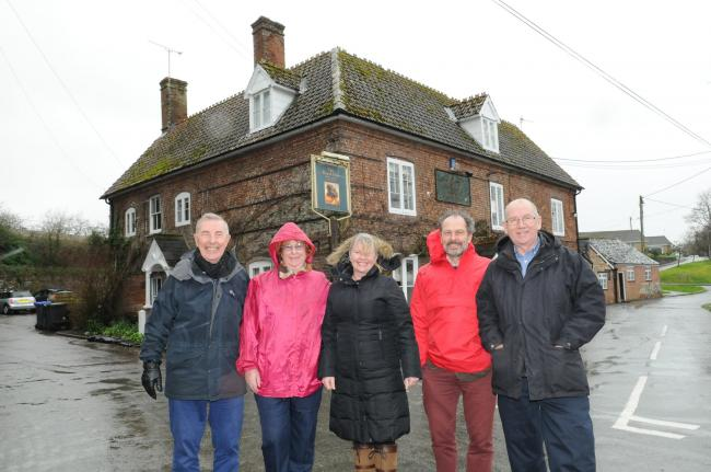 Villagers battle to save local pub