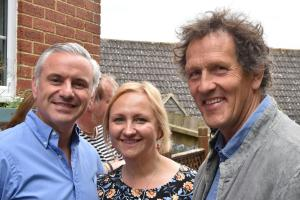 Couple star in Monty Don garden makeover TV show