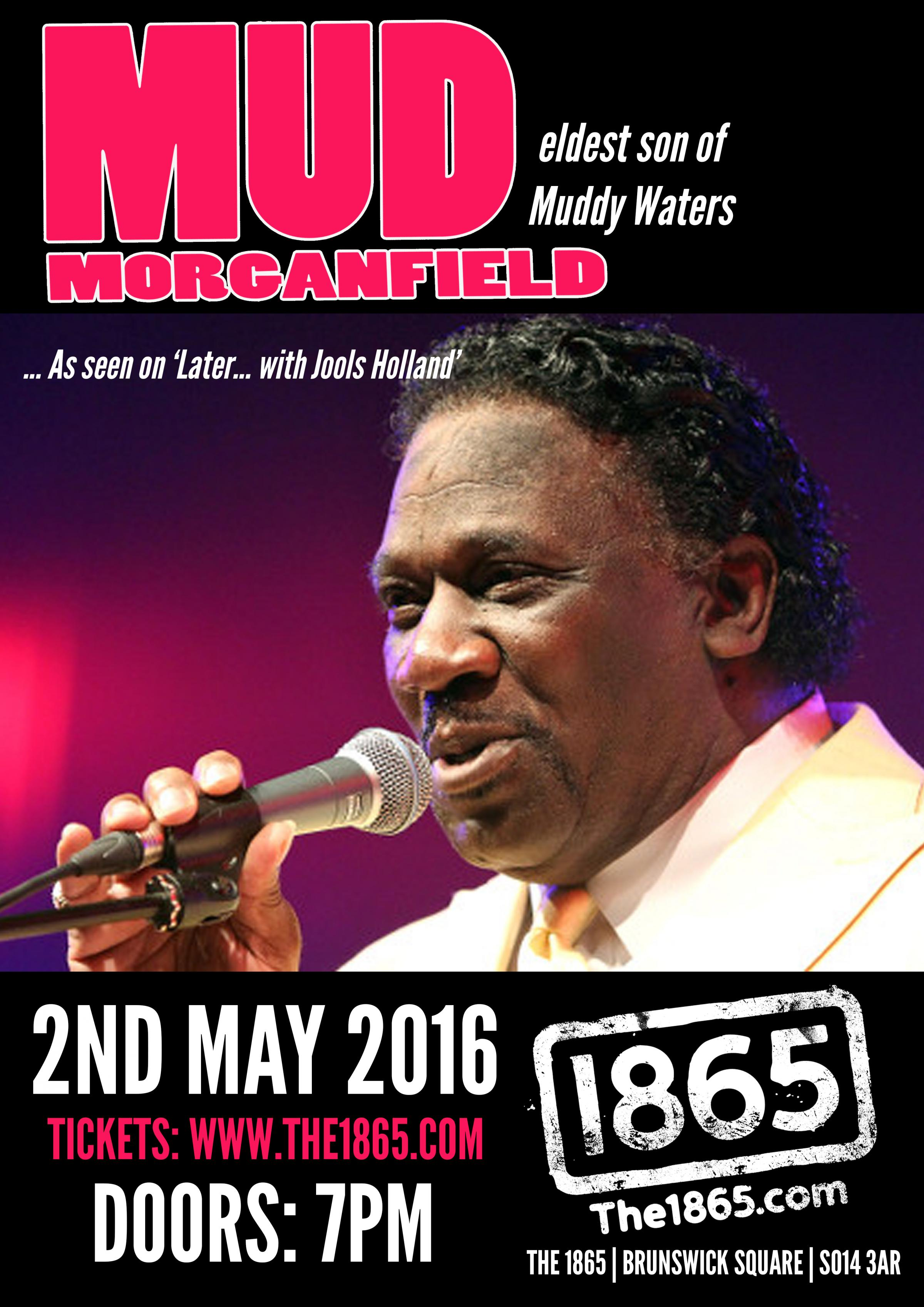 Mud Morganfield (Eldest son of Muddy Waters) at The 1865, Southampton