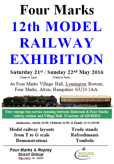 Four Marks 12th MODEL RAILWAY EXHIBITION