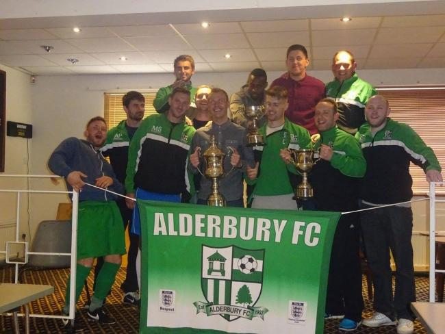 Alderbury FC won the 2015/16 Salisbury District Premier (Saturday) League