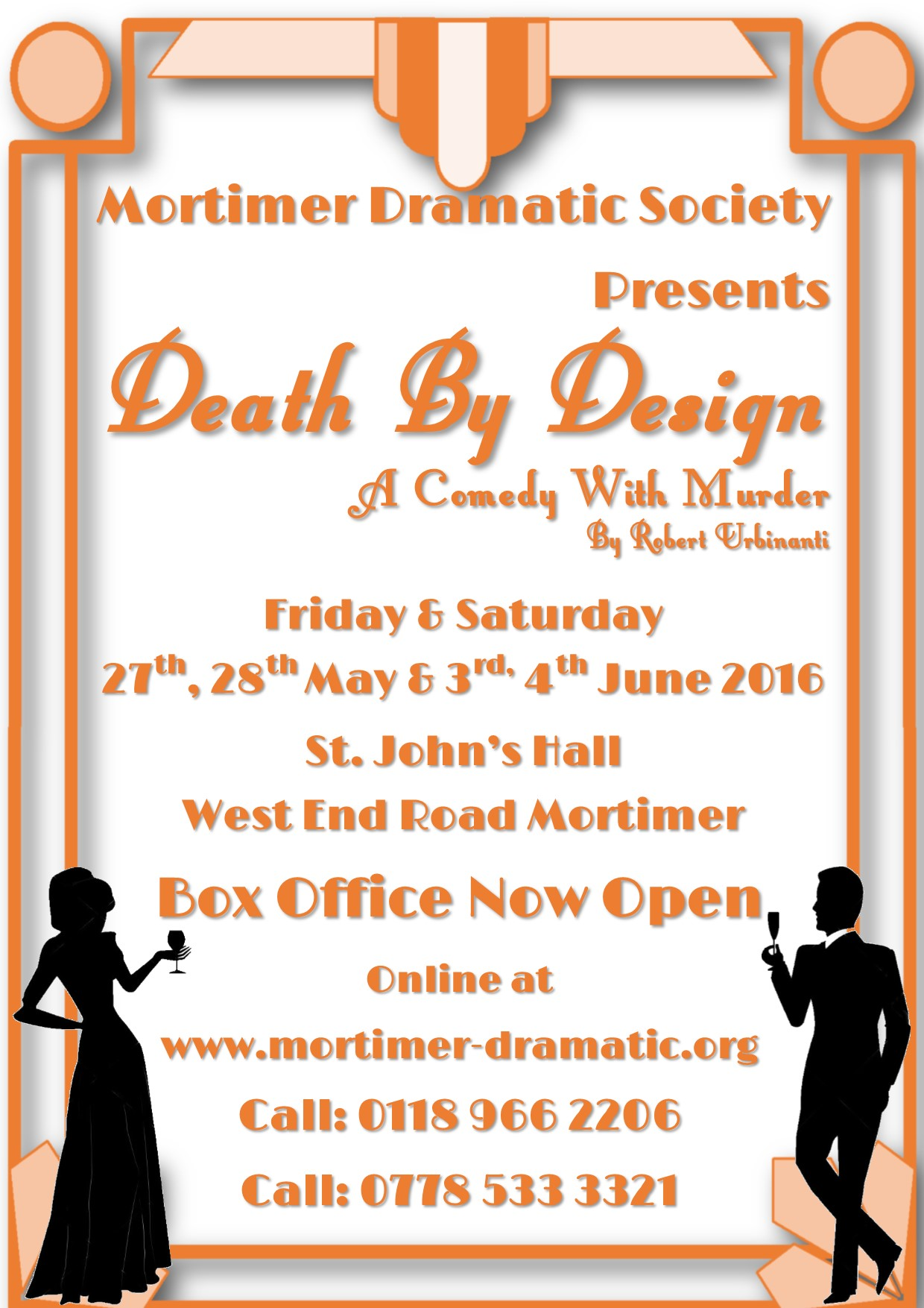 Mortimer Dramatic Society -Spring Production