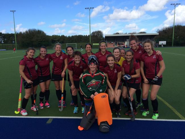 Salisbury Women's Hockey team at Jersey