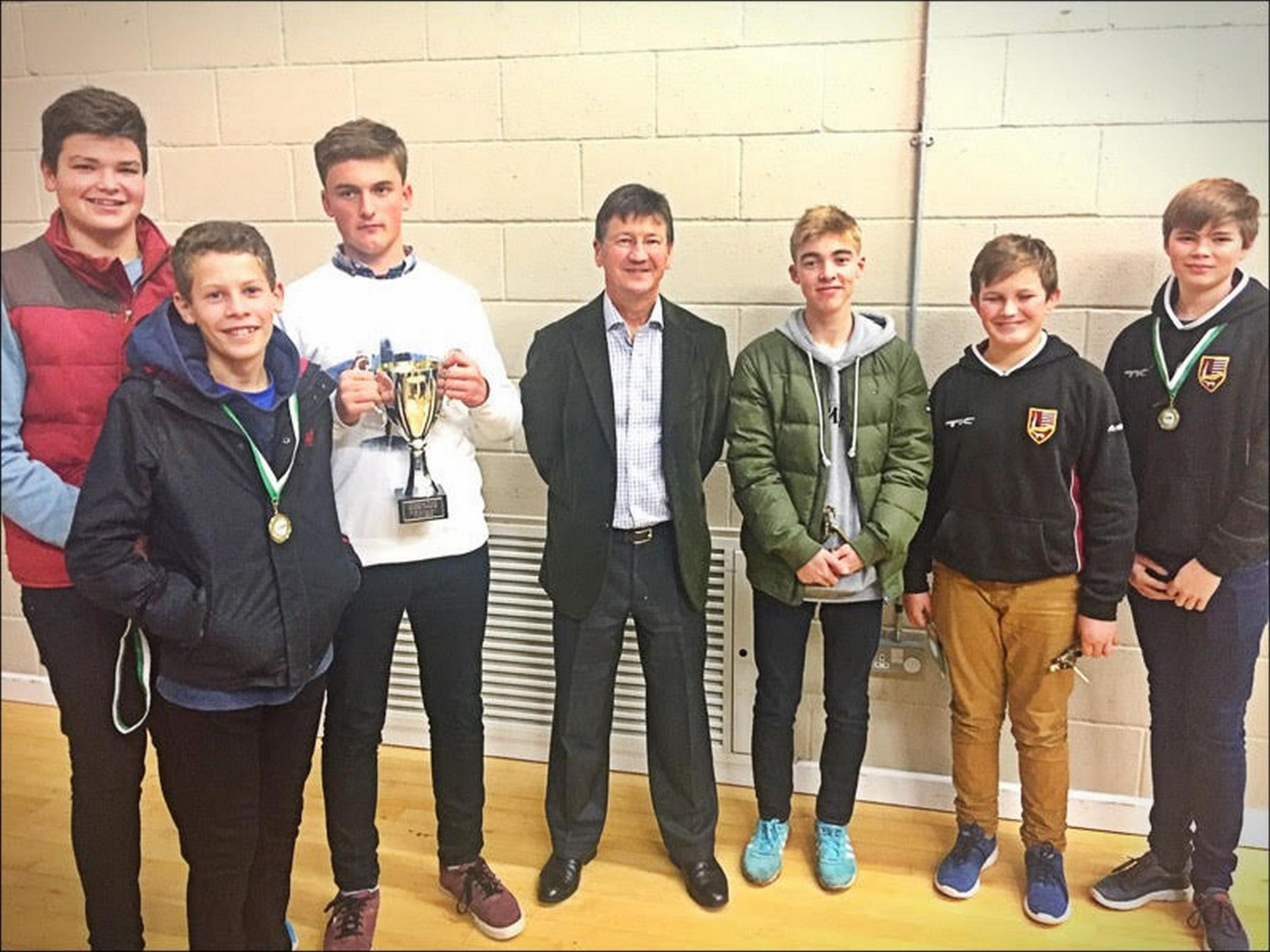 South Wilts juniors scoop awards at Wiltshire Youth Cricket League presentations at Calne CC.
