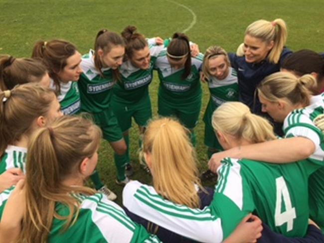 Laverstock and Ford Ladies progress to the semi-final of the Wiltshire FA Women's Cup