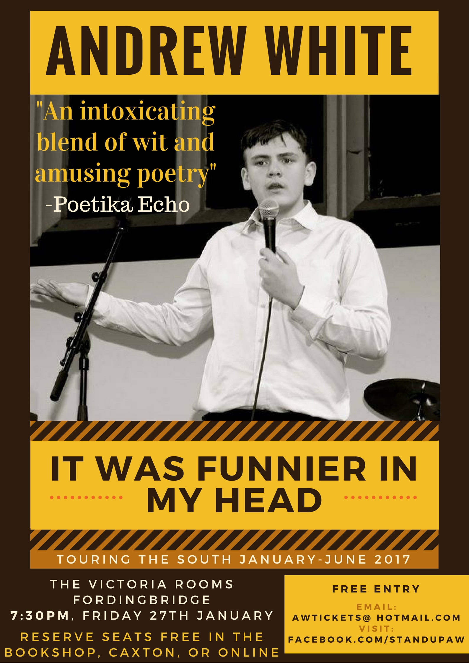 Andrew White - It Was Funnier In My Head