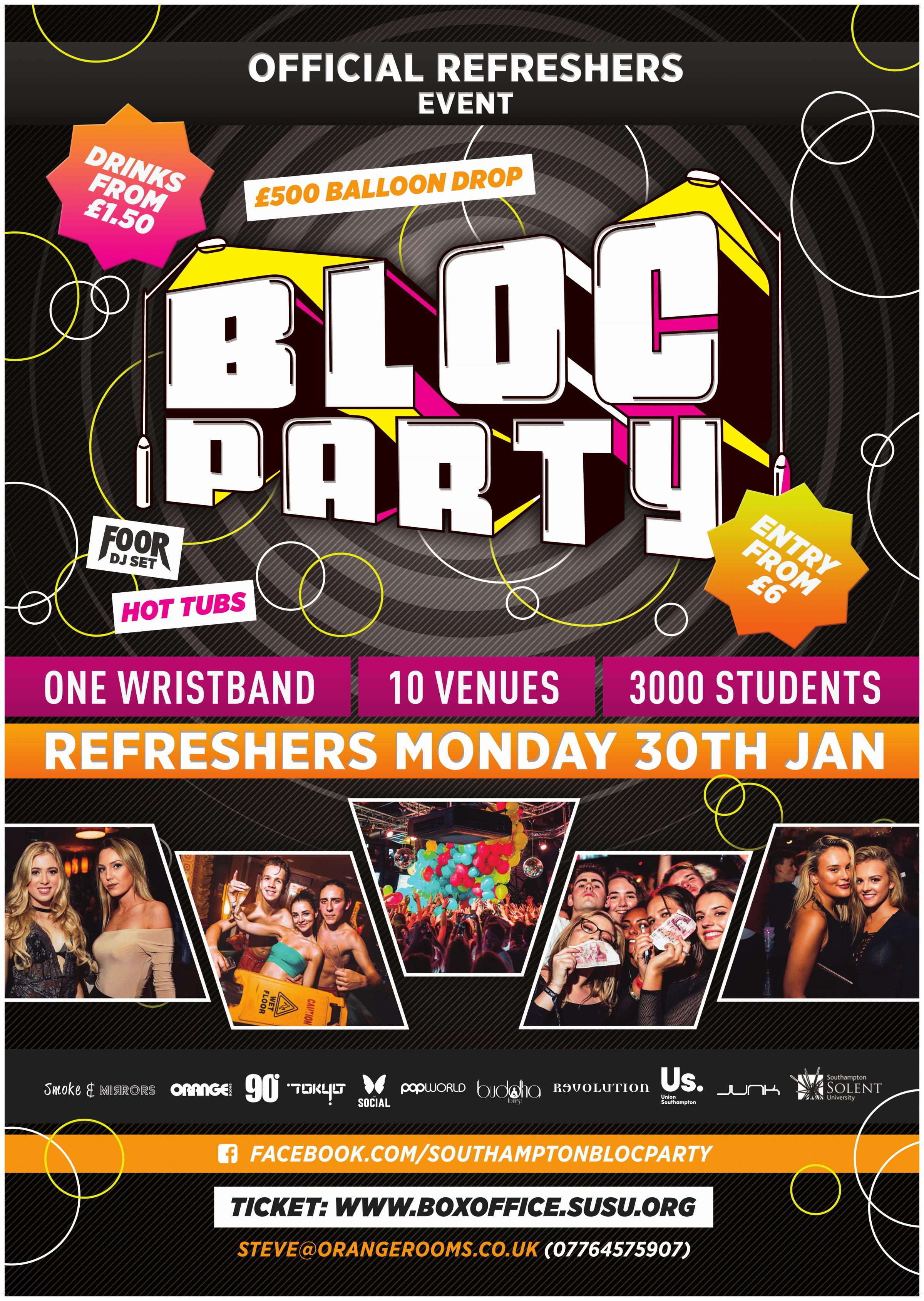 Refreshers': Bloc Party