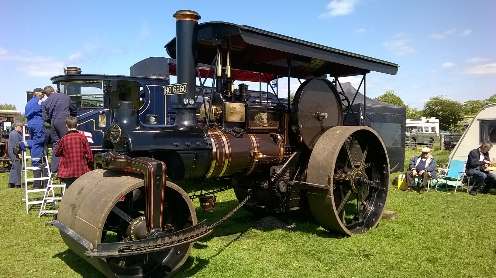 Bill Targett Steam Rally
