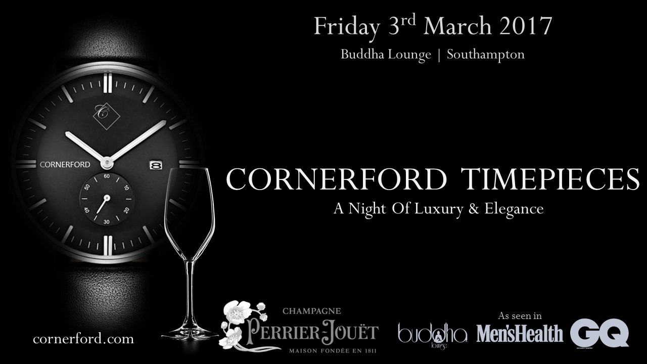 Cornerford Timepieces - A Night of Luxury & ELegance