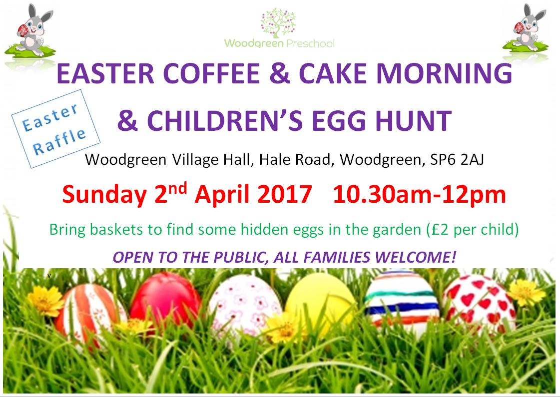 Easter Egg Hunt and Coffee morning