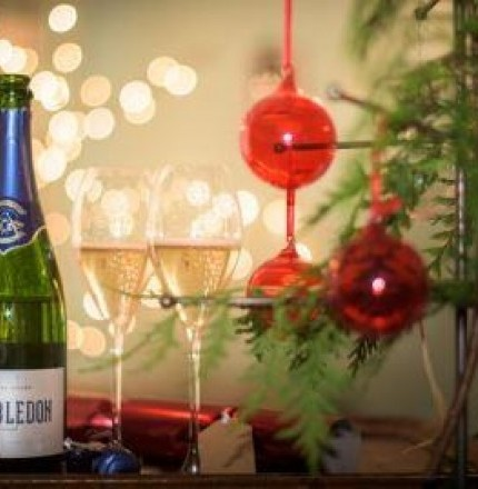 Make your own Christmas Sparkling Wine