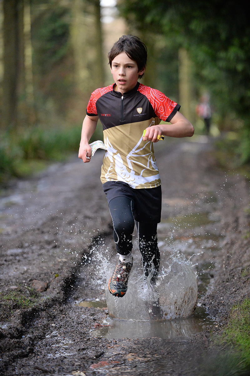 Orienteers get stuck in at Fonthill event