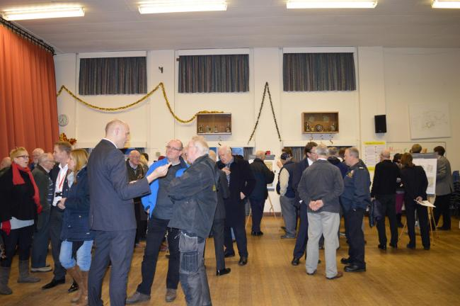 Residents turned out in force in December for an exhibition event showcasing the development plans