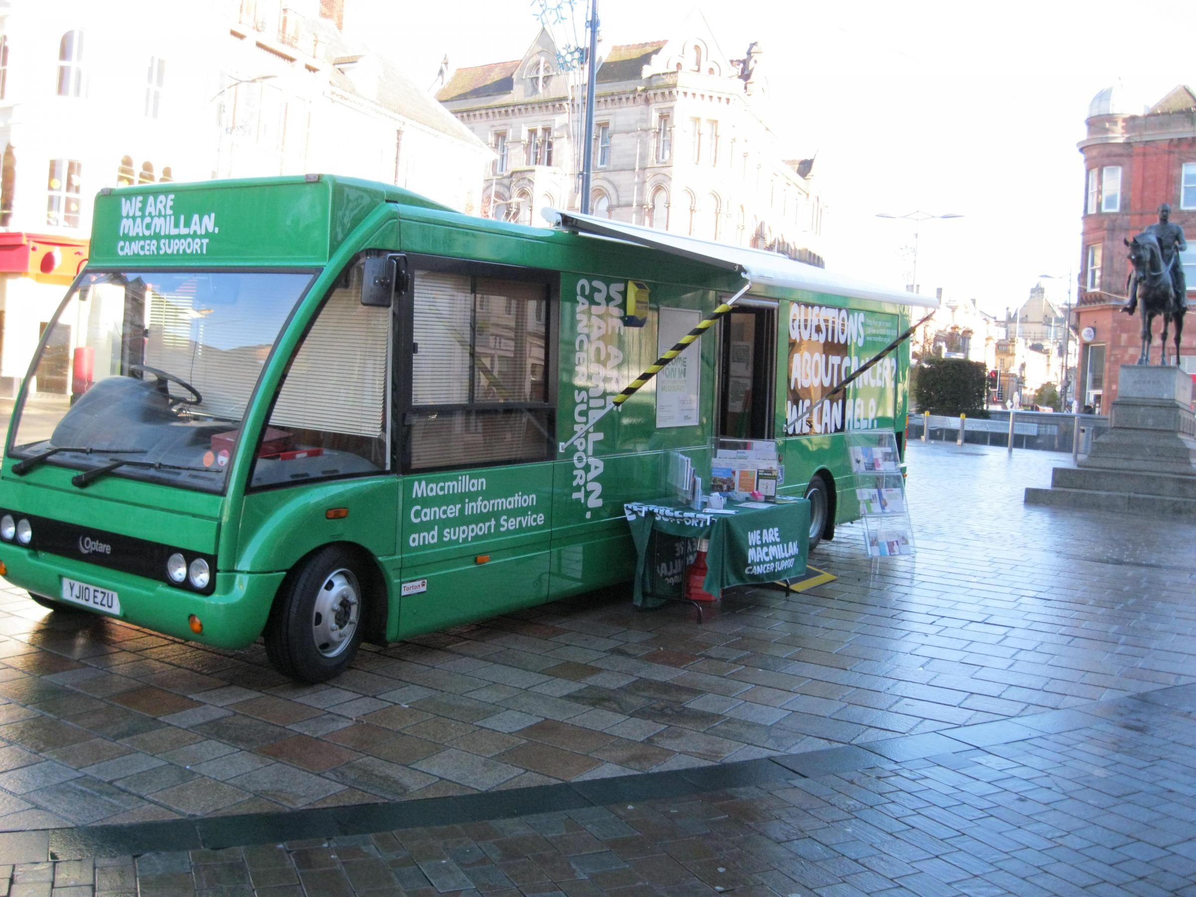 Macmillan Cancer Support Information Service in Boscombe
