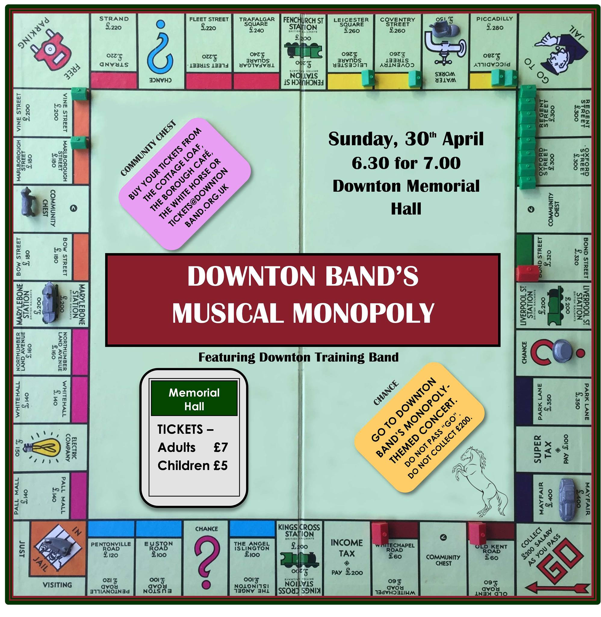 Musical Monopoly