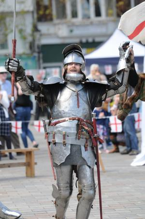 Salisbury Journal: St Georges Day Celebration at Salisbury Market Square. See the gallery here