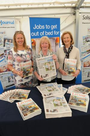 Salisbury Journal: The Salisbury Journal Job Fair and the Big Business Event in Salisbury Guildhall Square Today