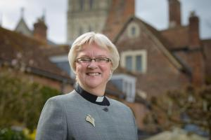 The Very Revd June Osborne. Picture by Ash Mills