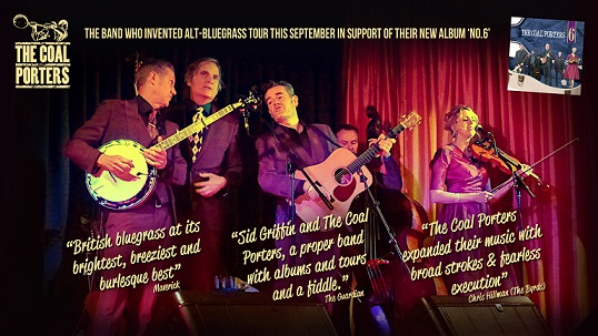 British bluegrass at it's best...The Coal Porters