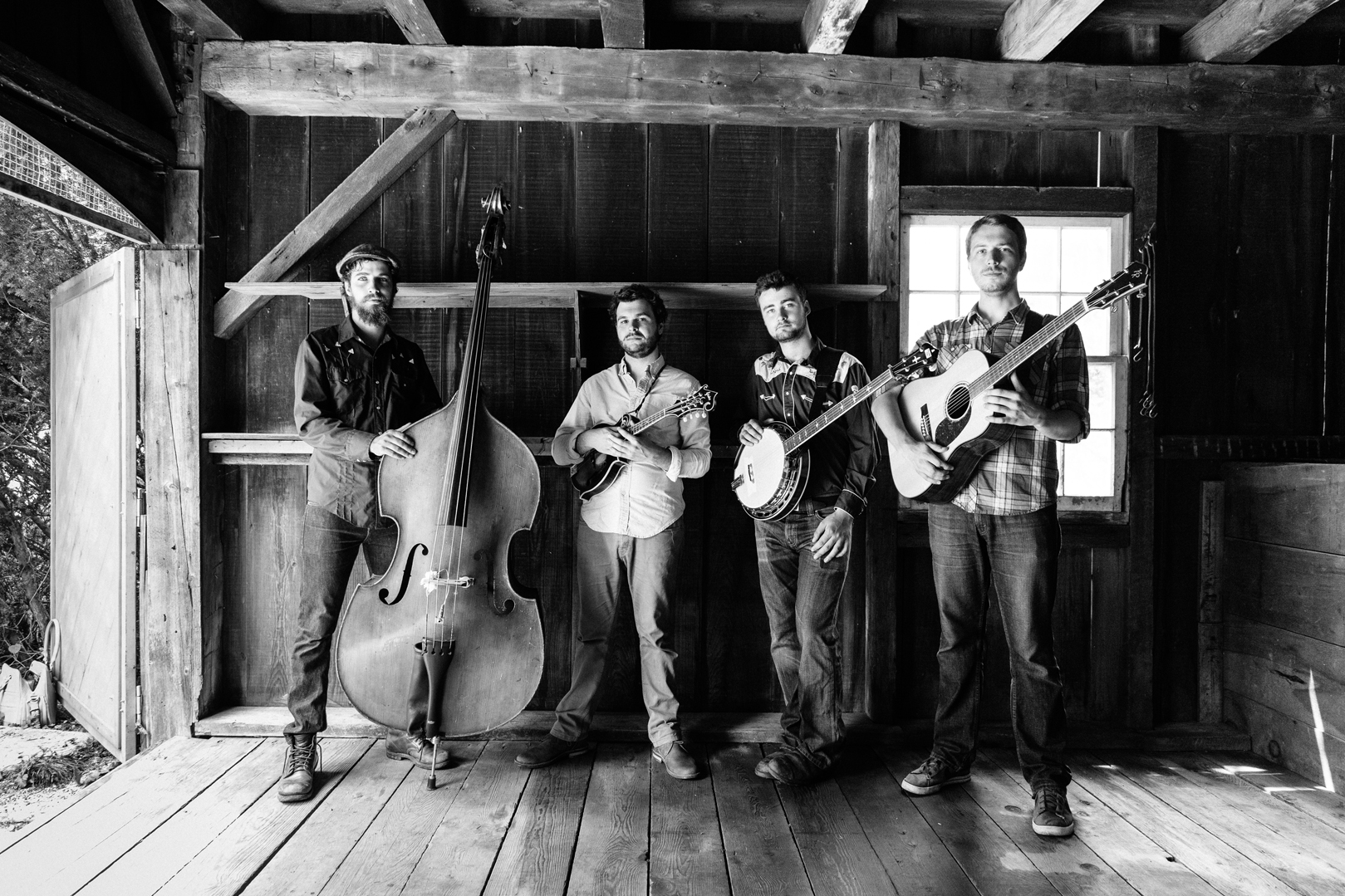 Scintillating North American bluegrass from The Slocan Ramblers