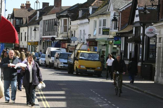 Salisbury Journal: Ringwood town centre
