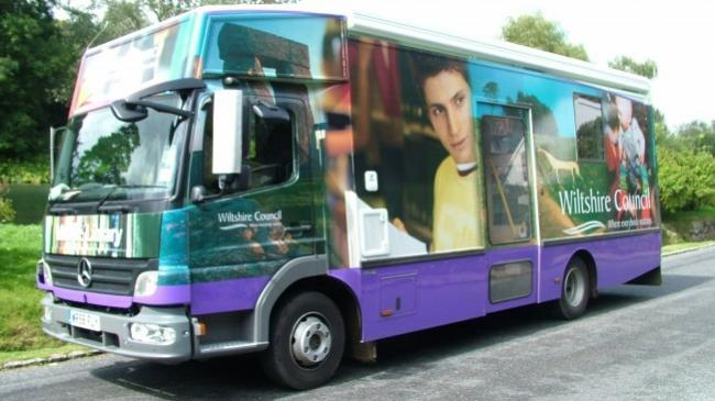 Wiltshire mobile library