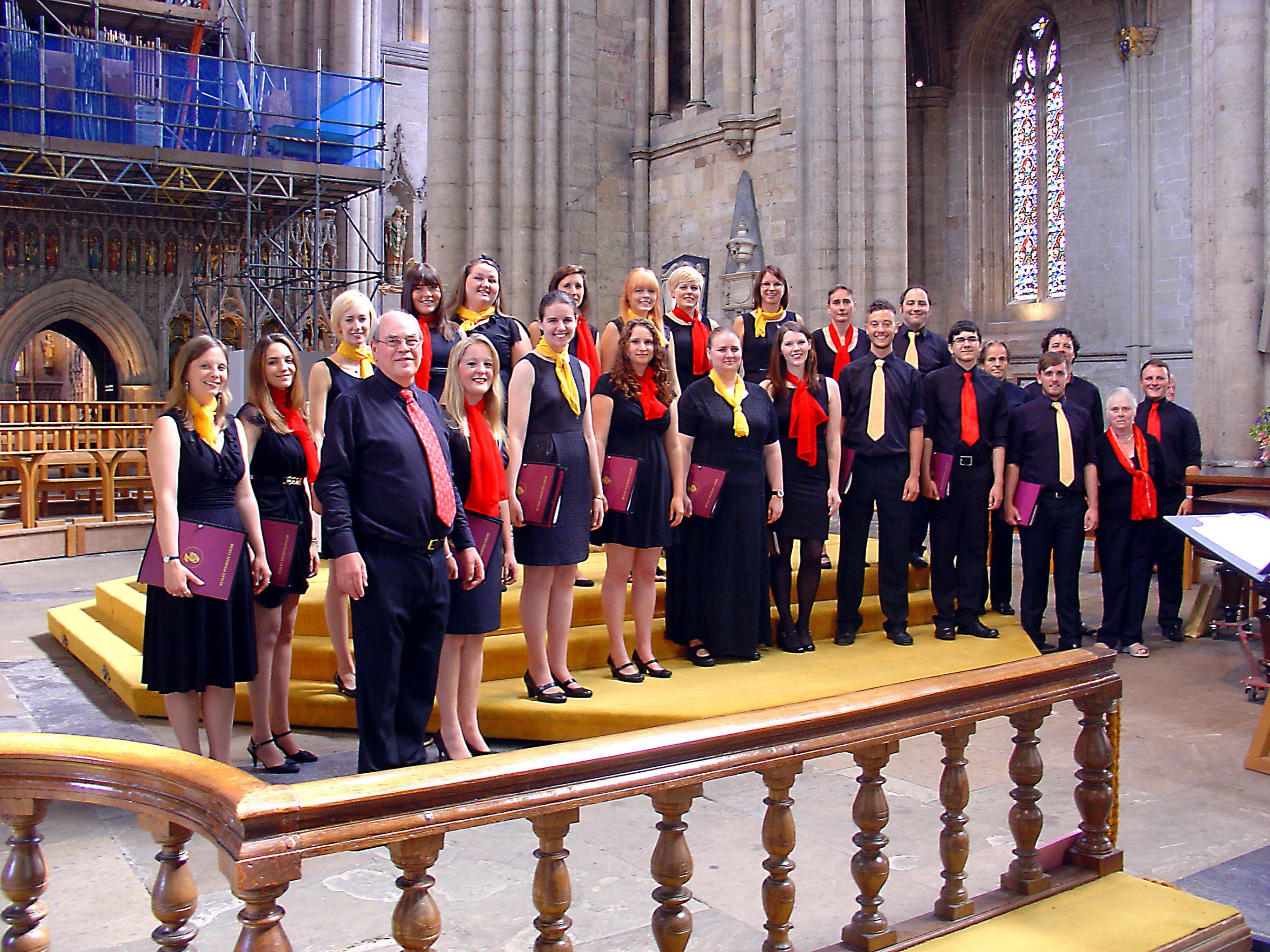 Bexley Phoenix Choir on Tour