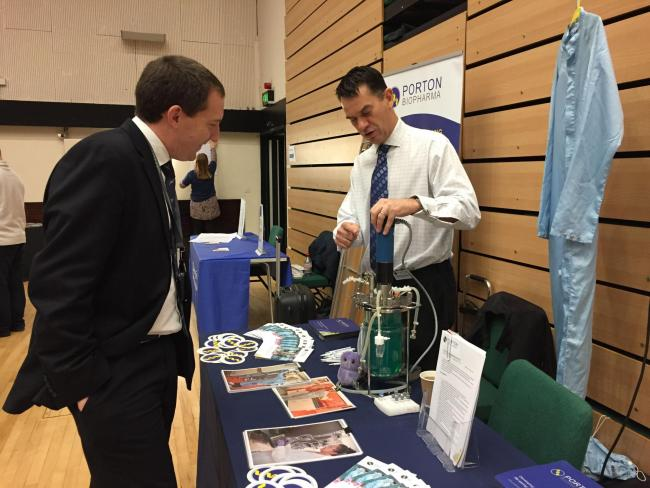 Successful careers fair returns for students returns to the city